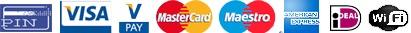 creditcard betalen taxi arnhem schiphol